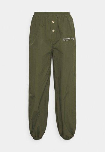 SPORTING CLUB JOGGER - Pantalones deportivos - khaki