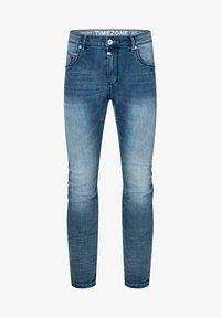 Timezone - Slim fit jeans - antique blue wash - 4