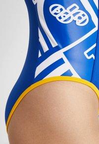 Tommy Sport - GRAPHIC BODYSUIT - trikot na gymnastiku - blue - 4