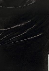 Miss Selfridge - CAMI STRAP MINI - Cocktailkjoler / festkjoler - black - 5