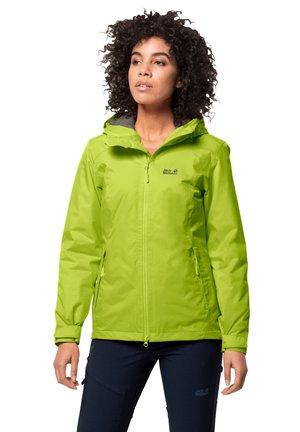 FROSTY - Soft shell jacket - bright lime