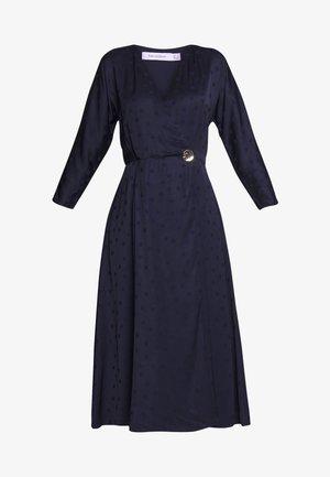 POLKA DOT DRESS - Robe d'été - navy