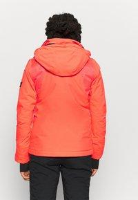 O'Neill - HALITE JACKET - Kurtka snowboardowa - fiery coral - 3