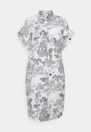 WANNA DRESS - Shirt dress - white light