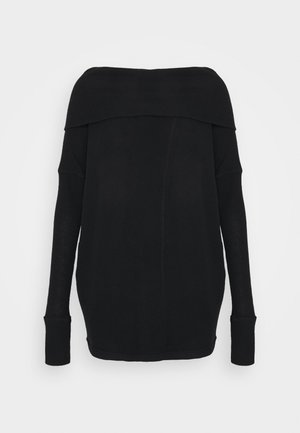 JUICY LONG SLEEVE - Jersey de punto - black