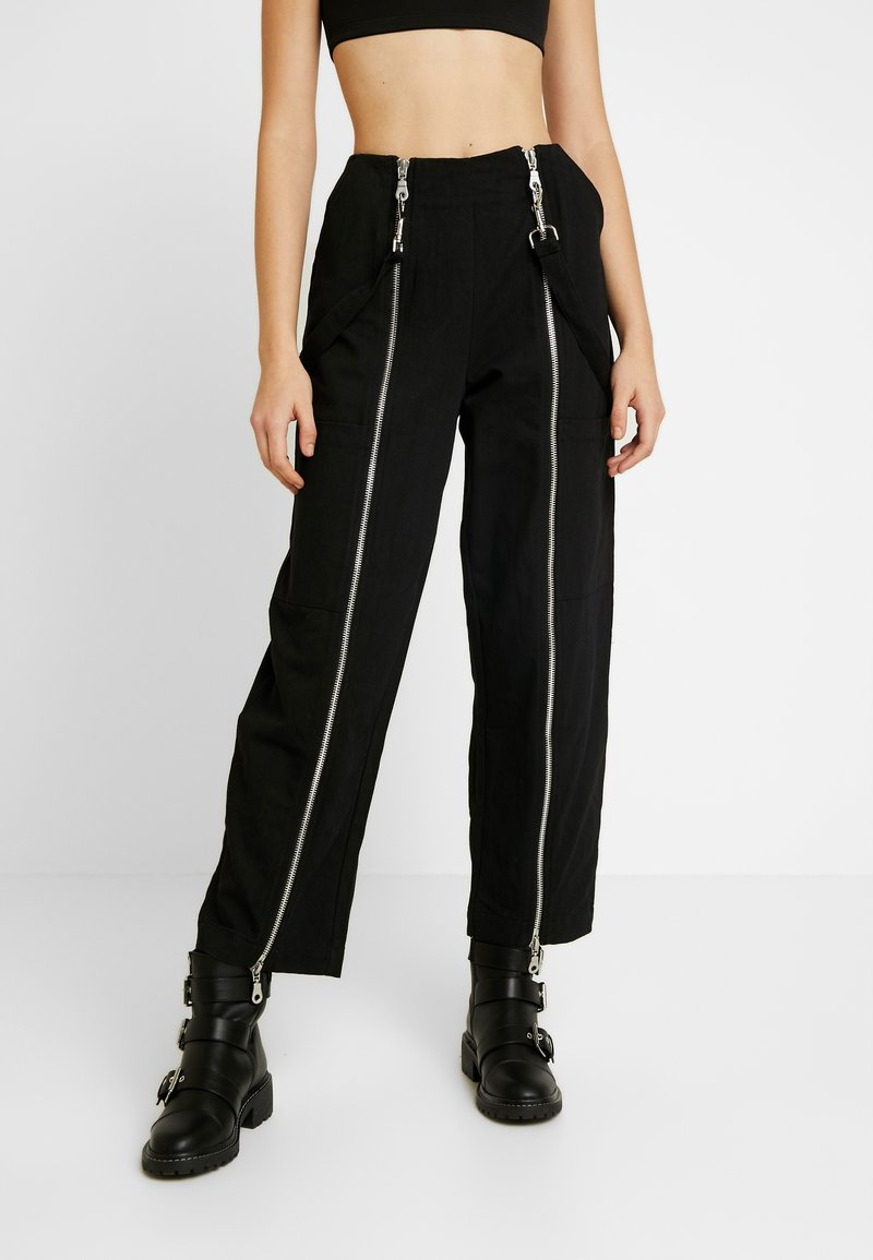 The Ragged Priest - MISTAKE PANT - Flared jeans - black