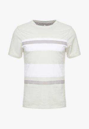 JPRBRANDON TEE CREW NECK - T-shirt con stampa - metal