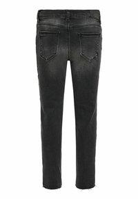 Kids ONLY - Straight leg jeans - black denim - 1