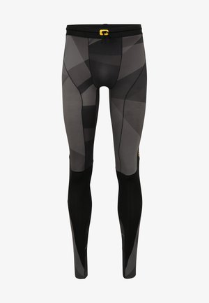 Leggings - black geo