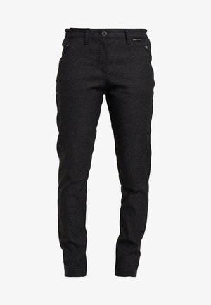 WINTER TRAVEL PANTS WOMEN - Pantaloni outdoor - black