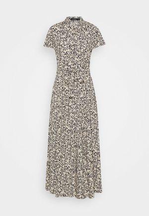SLARJANA MAXI DRESS - Shirt dress - buttercup/parisian night