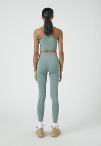 PULL&BEAR - SOUL MOVING - Legging - mottled blue - 2