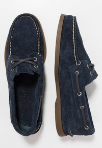 Sperry - 2-EYE - Boat shoes - navy - 1