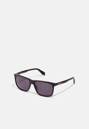 UNISEX - Sluneční brýle - shiny black smoke
