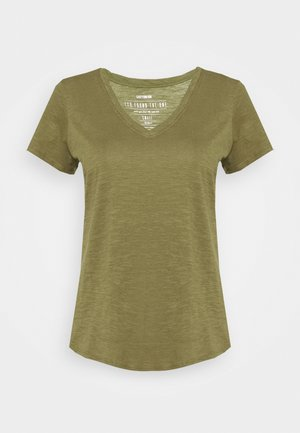 THE DEEP  - T-shirt basic - burnt olive