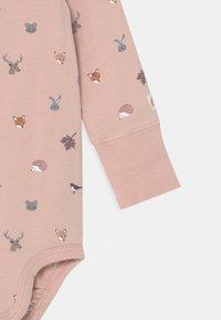 Lindex - MINI ANIMALS SET UNISEX - Leggings - Trousers - light dusty pink - 2