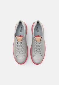 ECCO - TRAY - Golf shoes - alusilver - 3