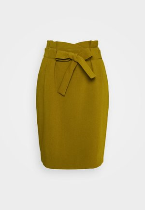IHUDELE - Pencil skirt - fir green