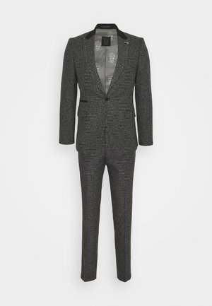 NEW WILBER SUIT - Oblek - charcoal