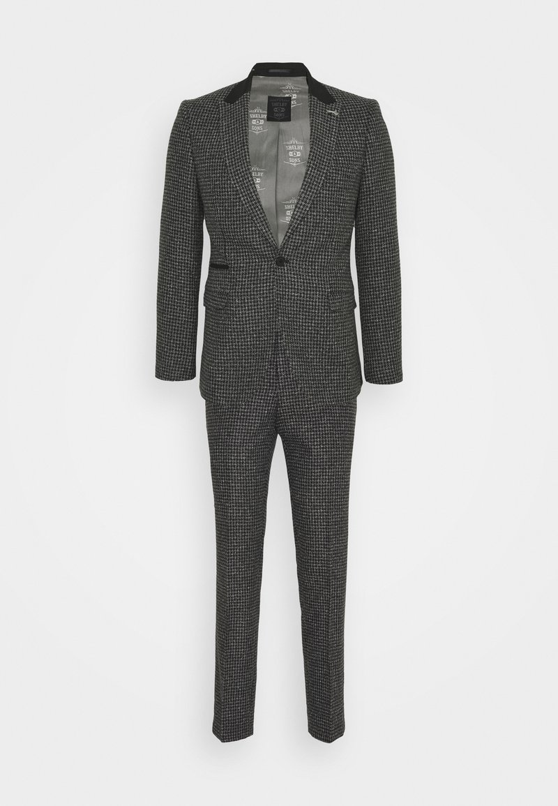 Shelby & Sons - NEW WILBER SUIT - Completo - charcoal