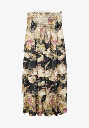 MULAN - A-line skirt - schwarz