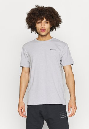 PINE TRAILS™ GRAPHIC TEE - Printtipaita - colm grey heather
