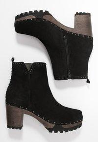 Softclox - OLESSIA - Platform ankle boots - schwarz - 3