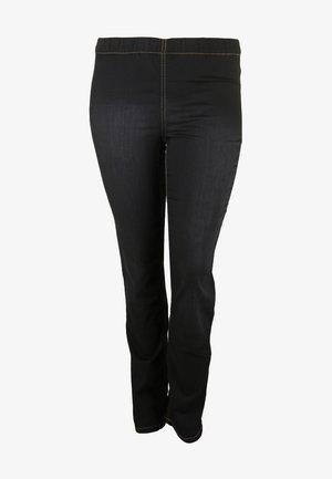 SUPER STRETCH - Slim fit jeans - schwarz
