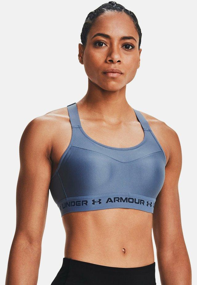 Sport-BH med mycket stöd - mineral blue
