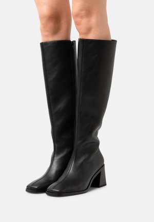 POLLY BOOT VEGAN - Boots - black dark