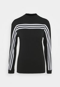 adidas Performance - Long sleeved top - black/white - 0
