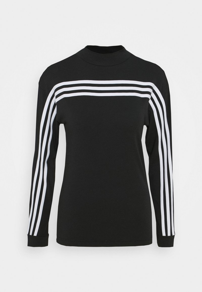 adidas Performance - Long sleeved top - black/white