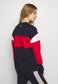 Fila - LANA - Bluza - black iris/true red/bright white - 2