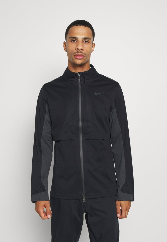 RAPID ADAPT - Waterproof jacket - black/dark smoke grey