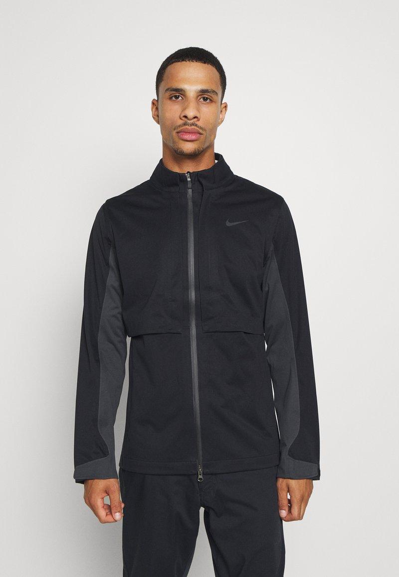 Nike Golf - HYPERSHIELD RAPID ADAPT 2-IN-1 - Waterproof jacket - black/dark smoke grey