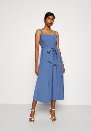 CORSICA MIDI DRESS - Day dress - blue
