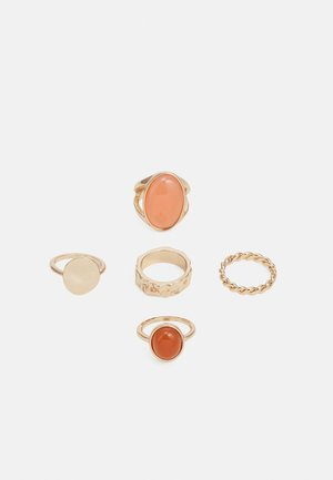 ICHUNKY STONE 5 PACK - Ring - gold-coloured