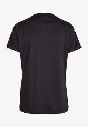 CORE SS - Print T-shirt - black pr