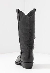 Felmini Wide Fit - GERBBERA - Cowboy/Biker boots - lavado black - 5