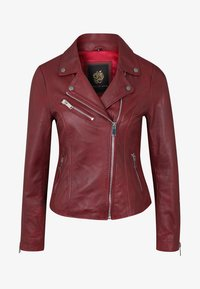 Apple of Eden - GHOST - Leather jacket - red - 4