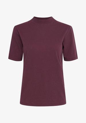 IHRANIA - Basic T-shirt - crushed violets