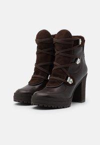 See by Chloé - Kotníková obuv na vysokém podpatku - texan/testa di moro - 2