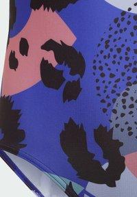 adidas Performance - ANIMAL SUIT  - Swimsuit - blue - 4