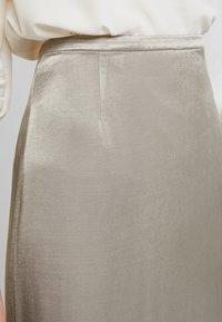 Weekday - SMART SKIRT - Maxi skirt - olive green - 4