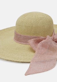 Forever New - SAMANTHA FLOPPY BOW HAT - Hat - natural/blush - 3