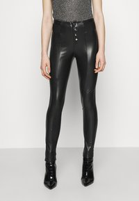 ONLY - ONLZABO BUTTON - Leggingsit - black - 0