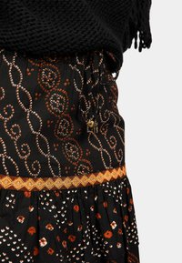 Isla Ibiza Bonita - A-line skirt - aztek print - black - 4
