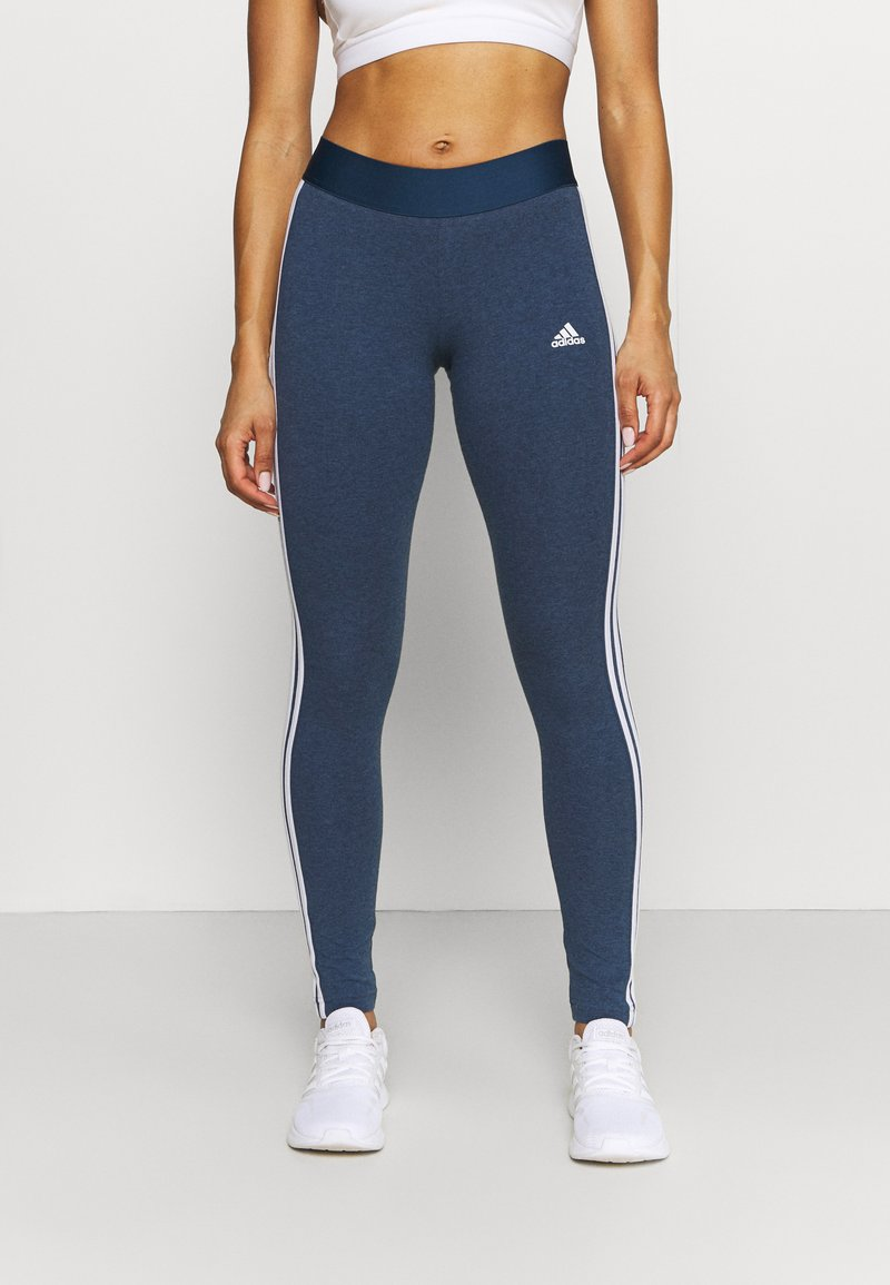 adidas Performance - Leggings - dark blue