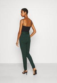 Vero Moda Tall - VMEVA PAPERBAG PANT - Trousers - pine grove - 2