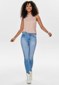 ONLY - Jeans Skinny Fit - light blue denim - 1